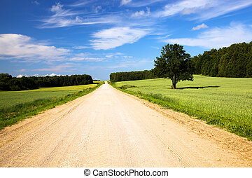 그만큼, 시골의 길