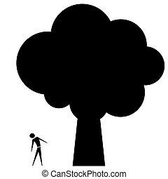 그만큼, 큰 나무