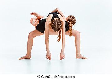 그만큼, 키드 구두, 댄스 스쿨, 발레, hiphop, 거리, 케케묵은, 와..., 현대, 춤추는 사람