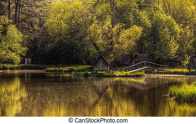 그만큼, 황금, 호수