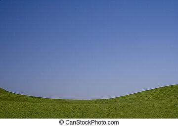 그만큼, beauthy, 의, 파란과 녹색