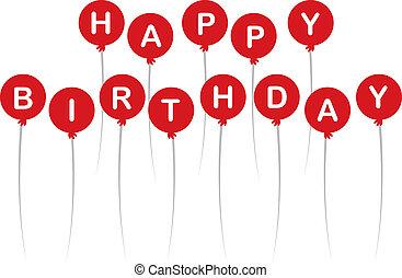 기구, 생일 축하합니다