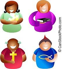 기독교도, 사람