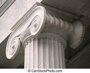 기둥, 법