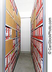 기록 보관소, 사무실