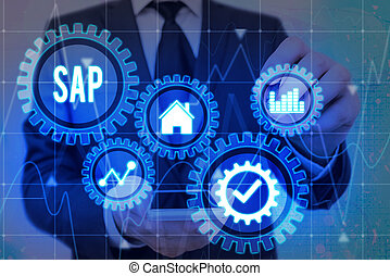 기업, 의미, 자원, 계획, 과정, 개념, 필적, erp, sap., 체계, 인조의,...