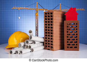 기중기, 건축 용지, 건축상이다