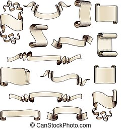 기, 성분, 디자인, 기치, 두루마리