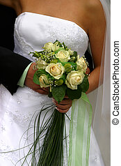 꽃다발, 결혼식