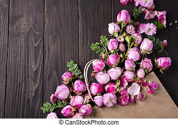 꽃다발, 장미