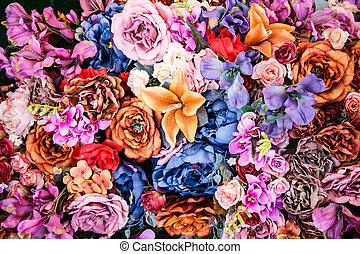 꽃다발, 포도 수확, 스타일