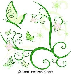 꽃의 디자인, 성분