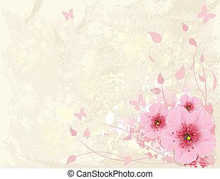 꽃의 디자인