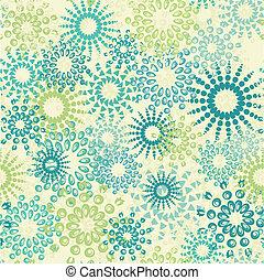 꽃의, 떼어내다, seamless, 패턴