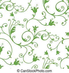 꽃의, seamless, 패턴