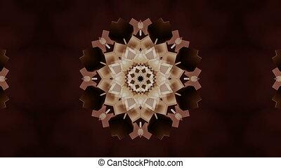 꽃, 떼어내다, 입자, 지방의 정제, able., 4k, 유행, 생명을 불어 넣어진다, 만다라, 고리, 3차원
