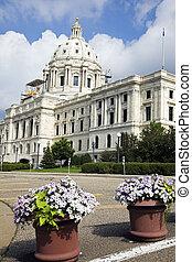 꽃, 안에서 향하고 있어라, 국가 미 국회의사당