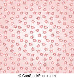 꽃, 패턴
