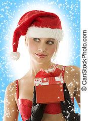 끝내다, 크리스마스, 아름다움, 위로의