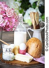 나무로 되는 테이블, 백색, 반죽, 성분