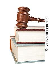 나무의 작은 망치, 와..., 법률 서적