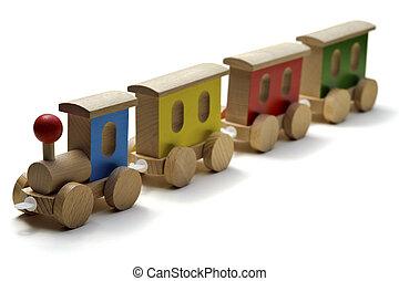 나무의 장난감, 기차