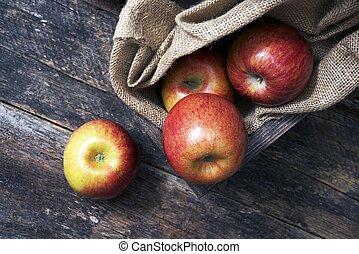 나무, 유기체의, 사과
