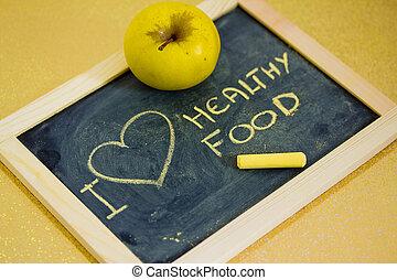 나, 사랑, 학교, 건강에 좋은 음식