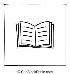 낙서, 책, 아이콘