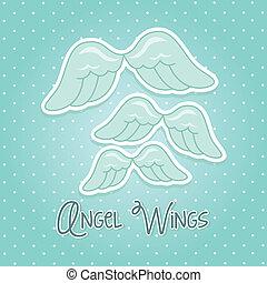 날개, 천사