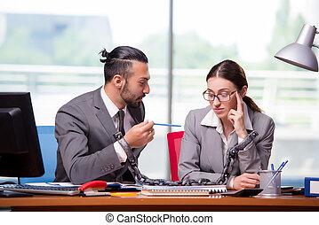남자와 여자, 에서, 사업 개념