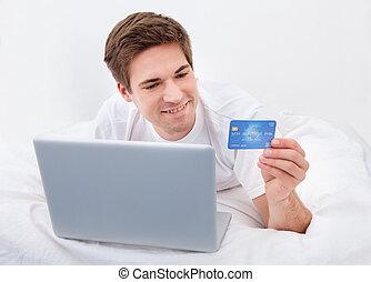 남자, 온라인쇼핑