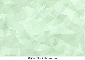 낮은, poly, 디지털, polygonal, 배경