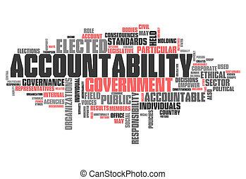 """낱말, 구름, """"accountability"""""""