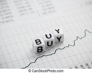 낱말, 구매, 에서, 편지, 입방체, 통하고 있는, 도표, 보고