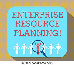 낱말, 쓰기, 원본, 기업, 자원, planning., 사업 개념, 치고는, analysisage,...