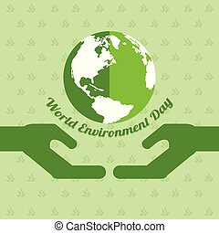 낱말, 환경, 일, 배경, 지구
