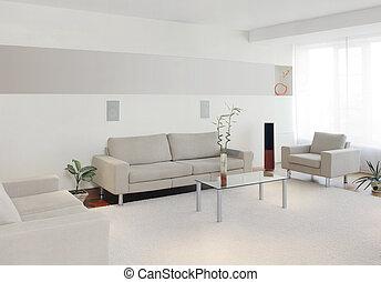 내부, 가정, 현대