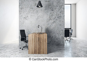 내부, 유행, 사무실