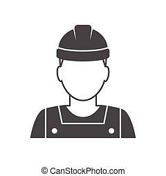 노동자, avatar, 아이콘