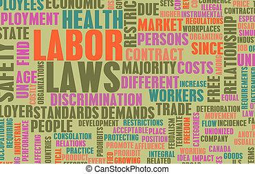 노동, 법률