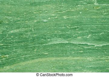 녹색의 대리석, 직물