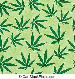 녹색의 잎, 배경