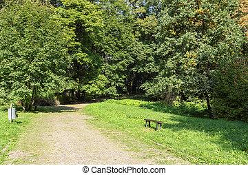 녹색, 도시 공원