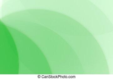 녹색, 디자인, 희미해지는, 요소, 배경, 떼어내다
