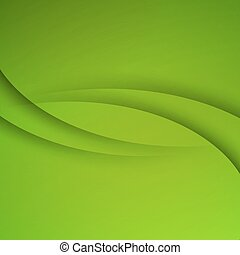 녹색, 벡터, 떼어내다, 배경, 와, 커브, 은 일렬로 세운다