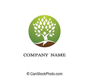 녹색, 상징, 잎, 삽화