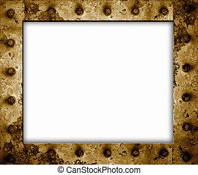 녹슨 금속, 구조, 고립된