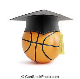 농구, 학교
