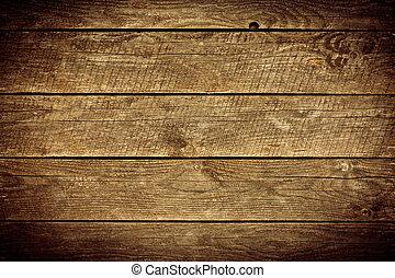 늙은, 나무로 되는 판자, 배경